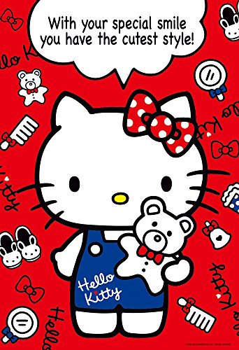 Hello Kitty 150-piece Jigsaw Puzzle Cute Style Large Piece (26x38cm)