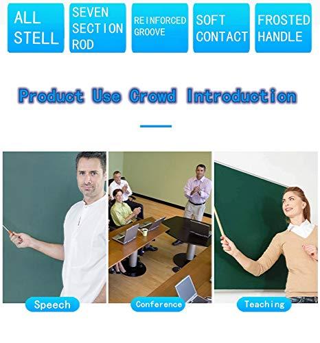 Telescopic Teachers Pointer,Teaching Pointer,Hand Pointer Extendable Telescopic Retractable Pointer Handheld Presenter Classroom Whiteboard Pointer (1)