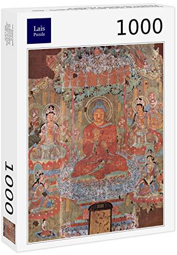 Lais Puzzle Pittore Cinese dell'VIII secolo - Il Paradiso di Buddha Amitabha 1000 Pezzi