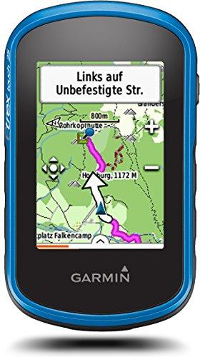 Garmin eTrex Touch 25 - Outdoor-Navigationsgerät, TopoActive Karte, GPS und GLONASS, 2,6 Zoll (6,6 cm) kapazitiver Farb-Touchdisplay (Generalüberholt)