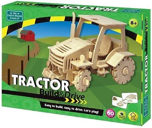 Grün Board Games Build & Drive Tractor by Grün Board Games