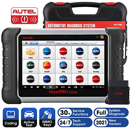 Autel MaxiPRO MP808TS Diagnostic Scanner: Auto Scan Tool for All Cars with 30+ Special Service,...