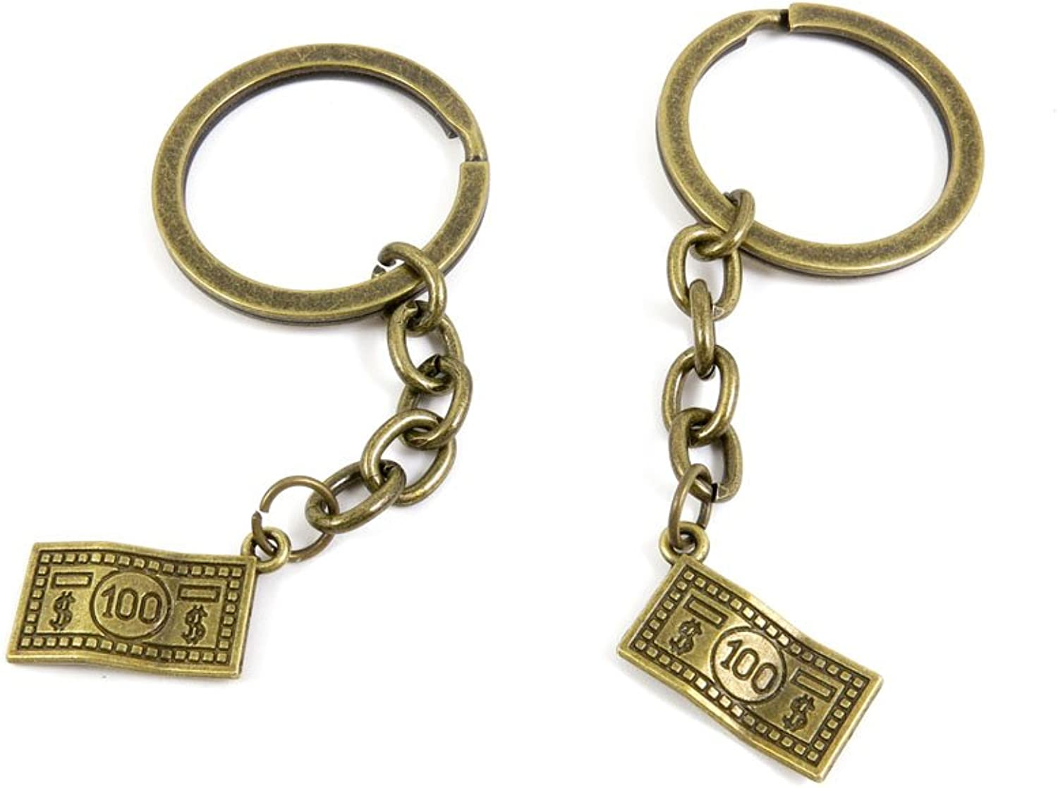240 Pieces Fashion Jewelry Keyring Keychain Door Car Key Tag Ring Chain Supplier Supply Wholesale Bulk Lots D1ZP2 100 US Dollar