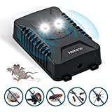 Nekano Repelente ultrasónico de Ratones Coche ahuyentador de Ratas con Luces LED para Anti-cucarachas, Ratones, arañas Apto para automóviles, hogares, garajes, áticos y Jardines(1 Pack)