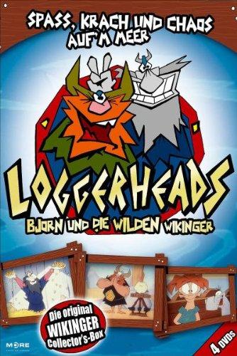 Loggerheads - Björn und die wilden Wikinger (4 DVDs)