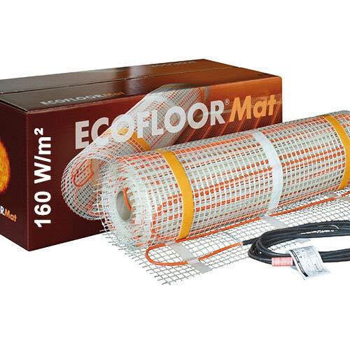 1120 Watt PREMIUM Fußbodenheizung elektrisch Fliese Bad Heizmatte 7,0 m²   1120 Watt   14,0 x 0,5 m OHNE Thermostat