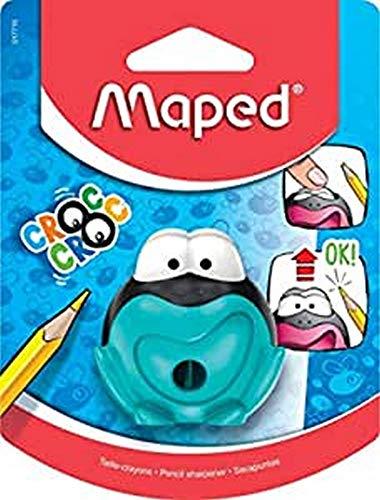Maped 017710 - Sacapuntas, 1 unidad, colores surtidos