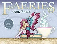 Amy Brown Faeries 12 Month Wall Calendar 2018 [並行輸入品]