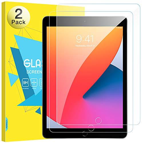 MoKo Protector de Pantalla para Nuevo iPad 8ª Generación 10.2, [2 PZS]...