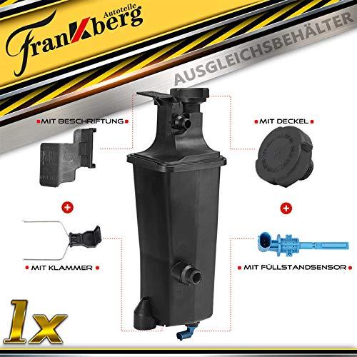 Ausgleichsbehälter Kühlmittel Mit Deckel & Sensor für 3er E46 X3 E83 X5 E53 Z4 E85 E86 1998-2009 17117573781