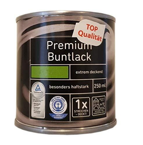 3x0,25 L Ostendorf Premium Buntlack wasserverdünnbar innen&außen seidenmatt 0,75 L Farbwahl, Farbe:Vanille