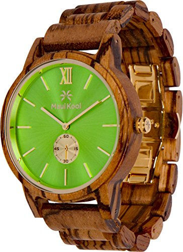 a beautiful watch made of wood is just the gift for dads who say they don't want anything