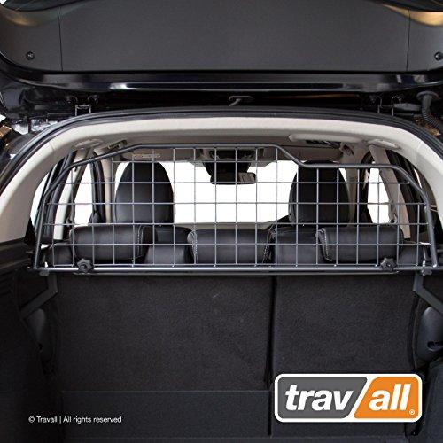 Travall Guard Grilles Pare-Chien Compatible avec Honda HR-V (2015 et Ulterieur) TDG1553 - Grille de Separation avec Revêtement en Poudre de Nylon