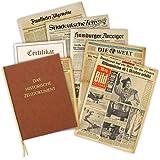 Zeitung vom Tag der Geburt 1963 - historische Zeitung inkl. Mappe & Zertifikat als Geschenkidee