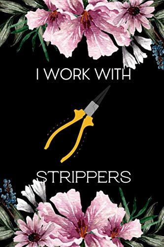 I Work With Strippers: Gifts For Engineering Students | Notebook