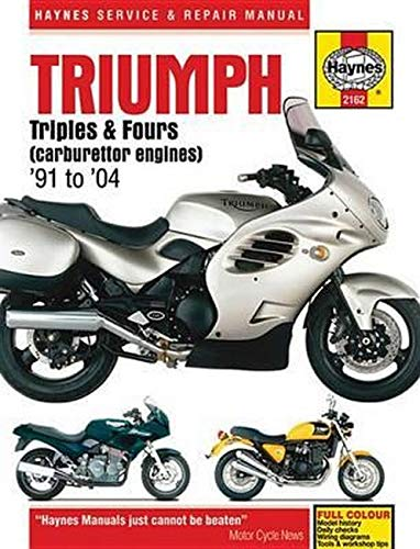 Triumph Triples and Fours (carburettor engines) 1991 - 2004 (Haynes Service & Repair Manual)