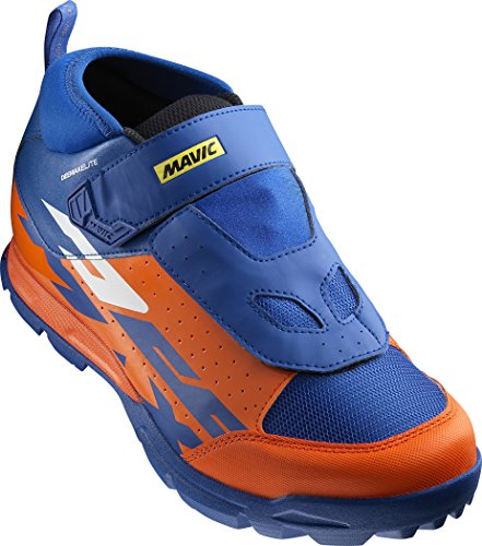 Mavic Deemax Elite - Zapatillas - naranja/azul Talla 46 2017