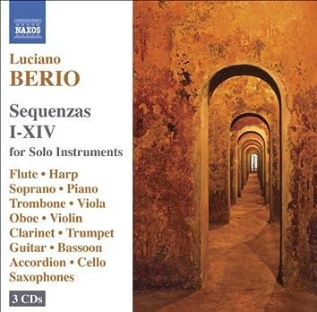 BERIO: Sequenzas I-XIV (Complete)