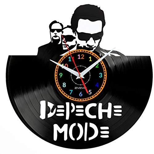 Depeche Mode Wanduhr Vinyl Schallplatte Retro-Uhr Handgefertigt Vintage-Geschenk Style Raum Home Dekorationen Tolles Geschenk Wanduhr Depeche Mode
