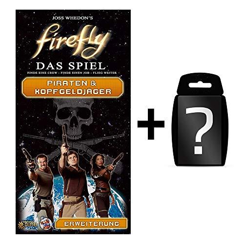 Fire fly - Piraten & Kopfgeldjäger - Erweiterung | DEUTSCH | Set inkl. Kartenspiel