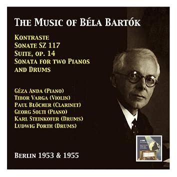 Géza Anda & Tibor Varga: The Music of Béla Bartók (Recorded 1953 & 1955)