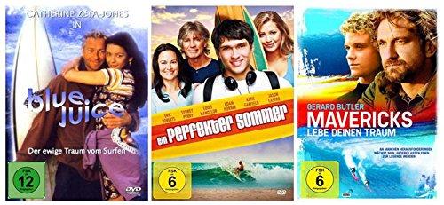 Die Surfer Film-Fan-Collection ( 3 Filmhits zum Surfen ) [3 DVDs]