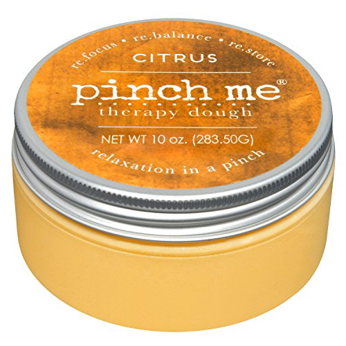Pinch Me Therapy Dough - Holistic Aromatherapy Stress Relieving Putty - 10 Ounce… (Citrus)