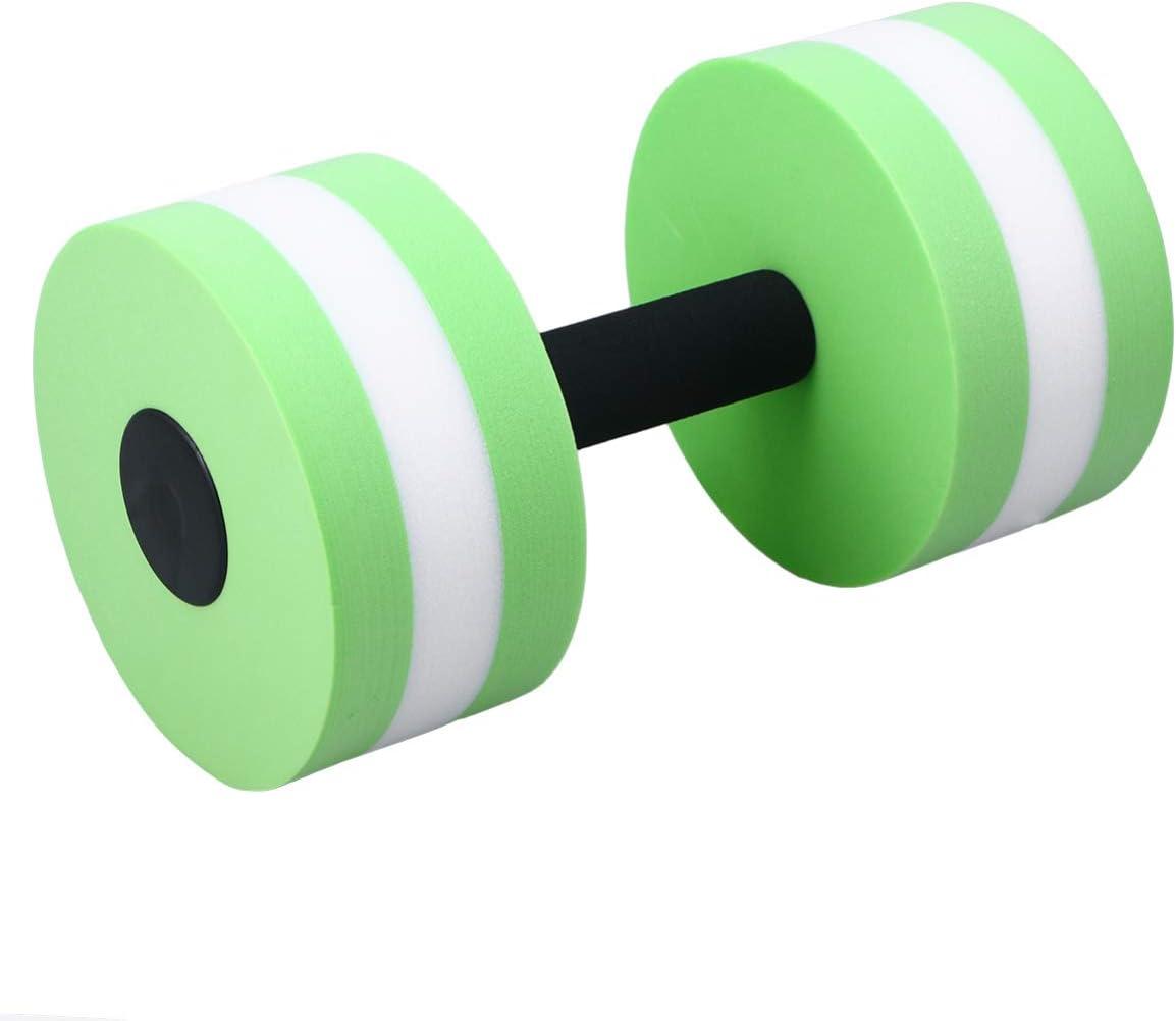 Vosareea para entrenamiento de nataci/ón en piscina con p/érdida de peso en agua Juego de mancuernas de espuma acu/ática aer/óbica para ejercicios de ejercicio y agua