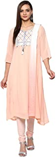 Aurelia Women's Georgette A-Line Salwar Suit Set