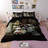 Stormtrooper Star Wars ropa de cama franela 135 x 200 cm 80 x 80 cm