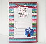 Hallmark Inh6131 Northpole Are You Ready to Jingle & Mingle Invitation Kit by Hallmark
