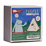 Hippococo Teepee Lights for Kids - 5 Strings Set - Universal fit for Any 5 Poles Teepee - Teepee Not Included (5 Poles)