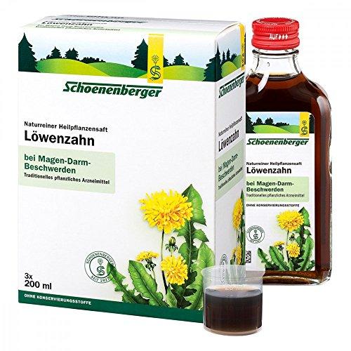 LÖWENZAHN SAFT Schoenenberger Heilpflanz.Säfte 3X200 ml