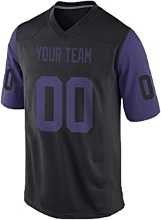 purple football jersey