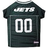 PETS FIRST NFL New York Jets Jersey Ropa para Mascotas, XL