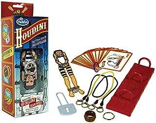 Thinkfun HCM11214 Houdini Englische Version Card Game