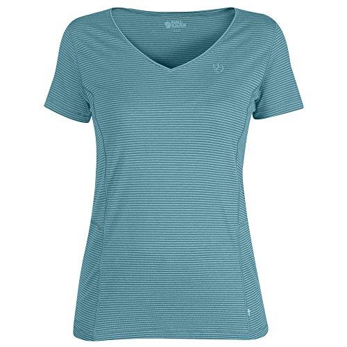 FJÄLLRÄVEN Damen T-Shirt Abisko Cool, Lagoon, S, F89472-506
