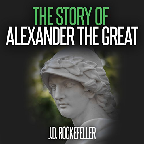 The Story of Alexander the Great audiobook cover art