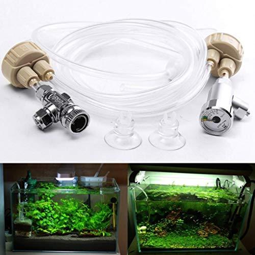 Yongse Nieuwe DIY CO2 Generator Systeem Kit Aquarium Waterplanten Noodzaak Koolstofdioxide