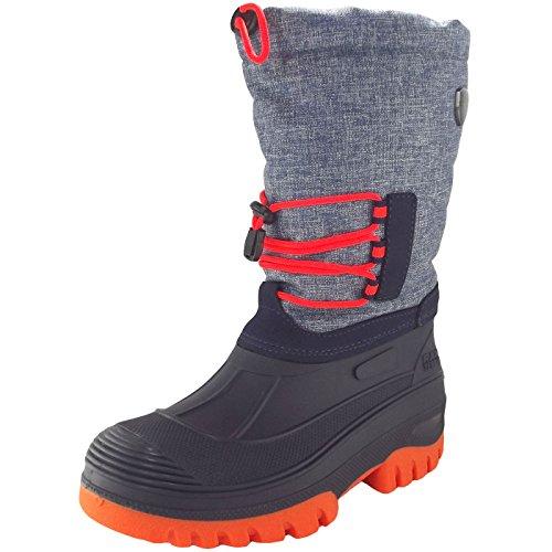 CMP Unisex-Erwachsene Ahto Bootsportschuhe, Türkis (Denim Mel. L552), 40 EU
