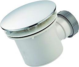 AQUADE set de drainage avec siphon pour receveurs de douche avec trou d/écoulement /Ø90mm qualit/é made in Germany couvercle en acier inoxydable 114mm
