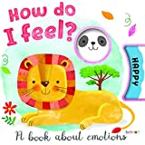 Bendon Hinkler How Do I Feel Board Book with Emotions Wheel 46219