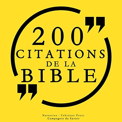 100 citations de la Bible cover art