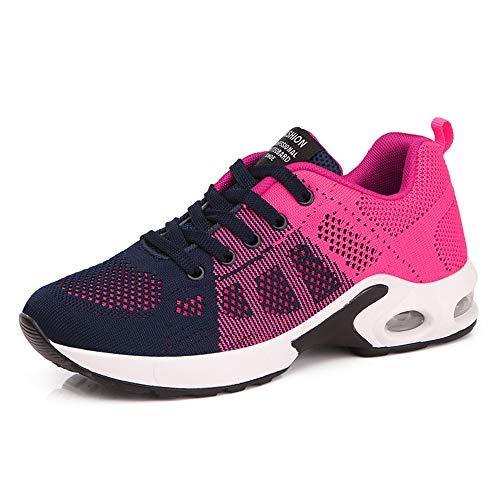 Discount Femmes Mode Chaussures de Sports D/ét/é Course Fitness Gym Athl/étique Multisports Ext/érieur Casual Baskets Confort Trekking