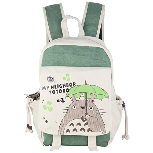 Innturt Anime Totoro Canvas Backpack Bag Rucksack School Bag