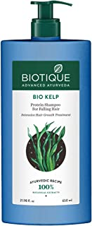 Biotique Bio Kelp Protein Shampoo for Falling Hair Intensive Hair Regrowth Treatment, 650ml