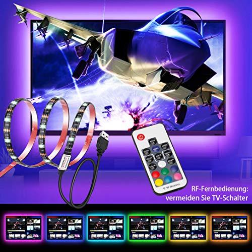 Hintergrundbeleuchtung TV, USB 78zoll 20-45 Zoll HD Fernseher Bildschirm und PC-Monitor LED Streifen Beleuchtung