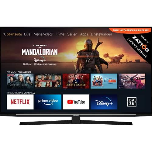 Grundig 55 GUB 8040, 4K/UHD, LED, Smart TV, 139 cm [55 Zoll] - Schwarz