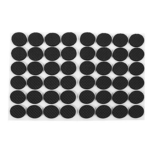 JULYKAI Silla Almohadillas de Goma Protector Negro Almohadilla de Goma, Sofá Silla Almohadillas de Goma para pies Almohadillas de Goma para pies, para Azulejos para el hogar Electrodomésticos
