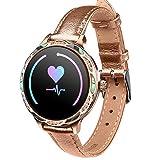 Gulu Smart Watch M9 Ritmo Cardíaco Monitor De Presión Arterial IP68 Deportes Impermeables Smartwatch Mujeres para...